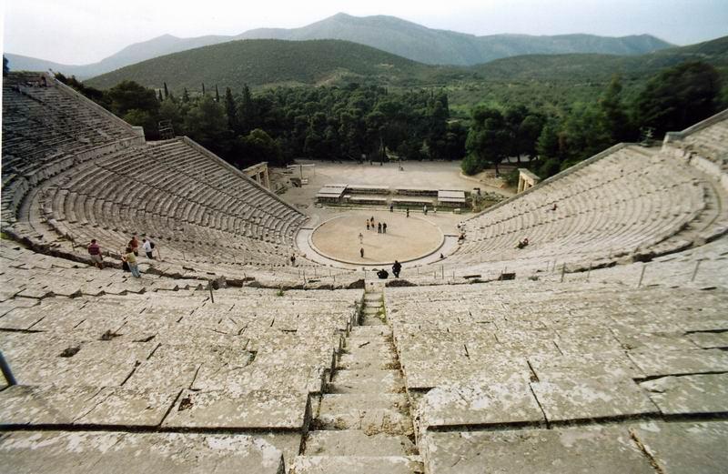 Flash sul mondo ... di tutto, di più: Il teatro di Epidauro, il teatro dove s...