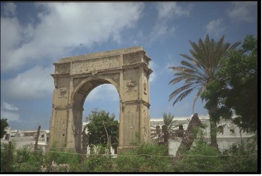 Mogadiscio: Arco Trionfale anni 30