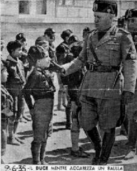 the impact of benito mussolini on the second world war