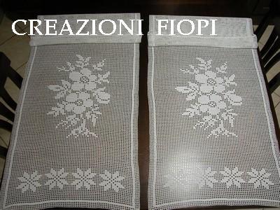 Tende A Filet Tende Tendine E Bordi Di Pizzo Alluncinetto 400 x 300 ...