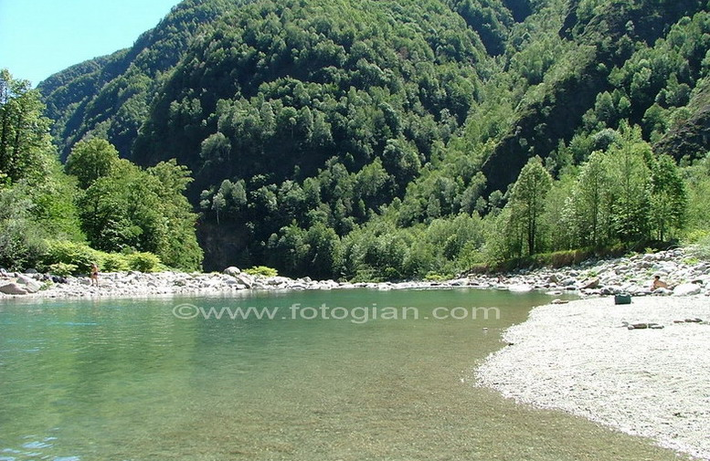sesia fiume river