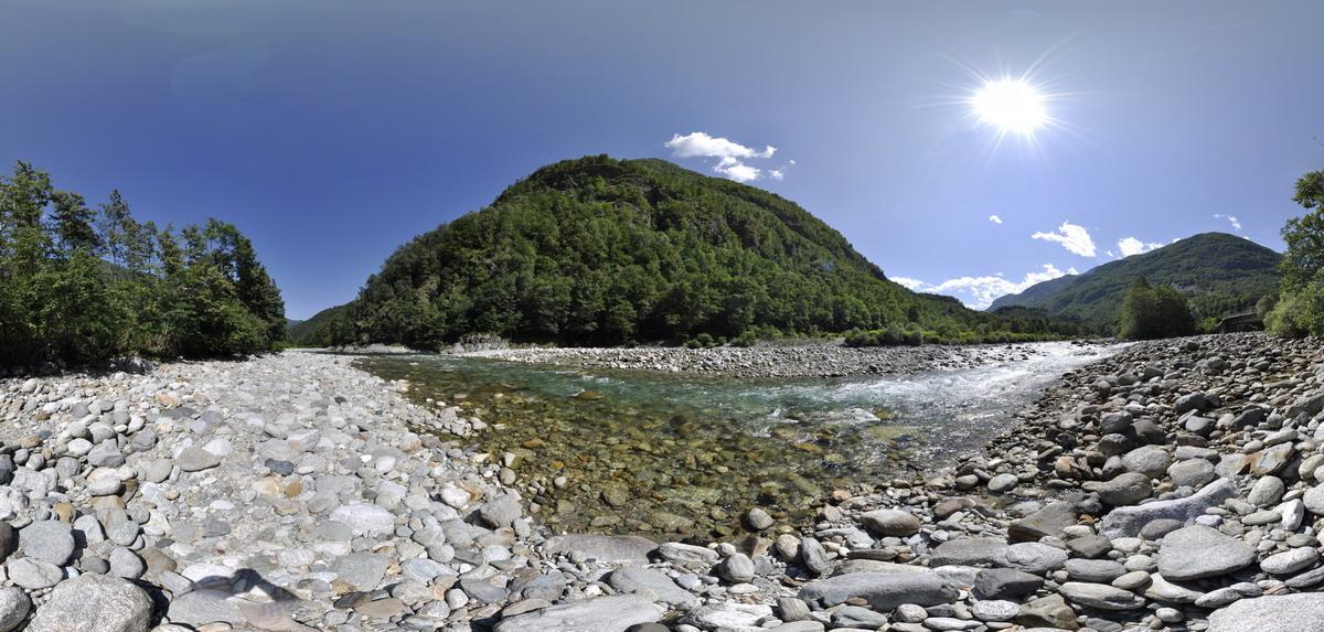 sesia river