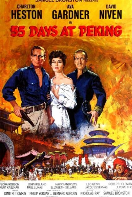 Locandina 55 Giorni a Pechino  streaming film