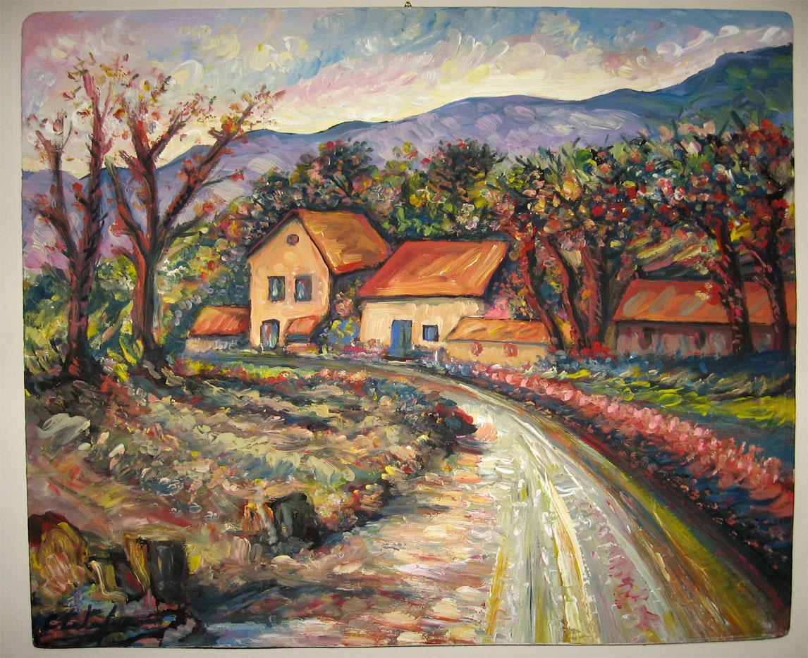 Carmine catapano paesaggi for Disegni di cabina di campagna