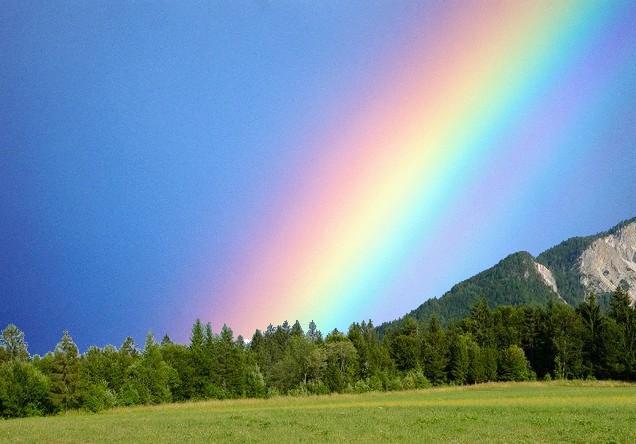 La leggenda dell'arcobaleno. Racconto Navajo. FAVOLE170