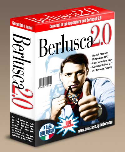 Silvio Berlusconi detto il Berlusca