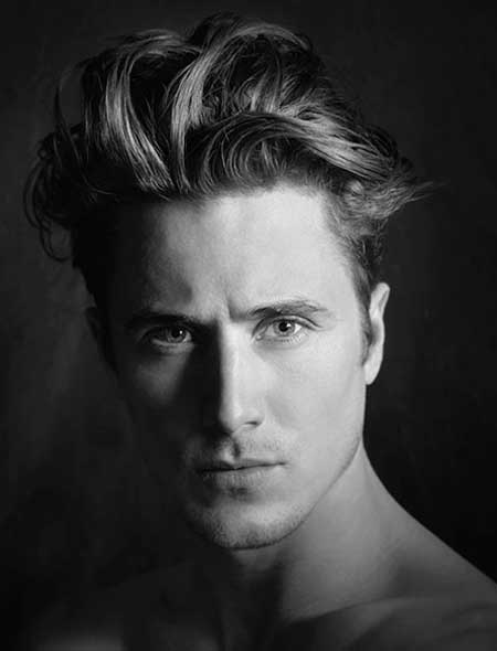 Popolare Ultime tendenze sui tagli di capelli da uomo medio-lunghi 2013 HR83