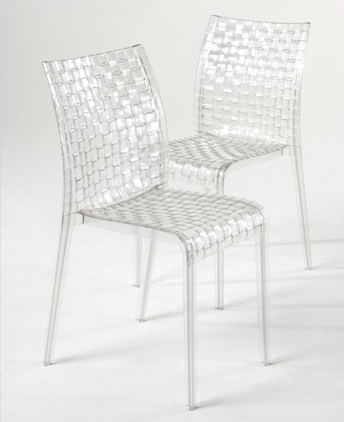 Kartell 4 sedie amiami tokujin yoshioka chairs chaises - Sedia trasparente kartell ...
