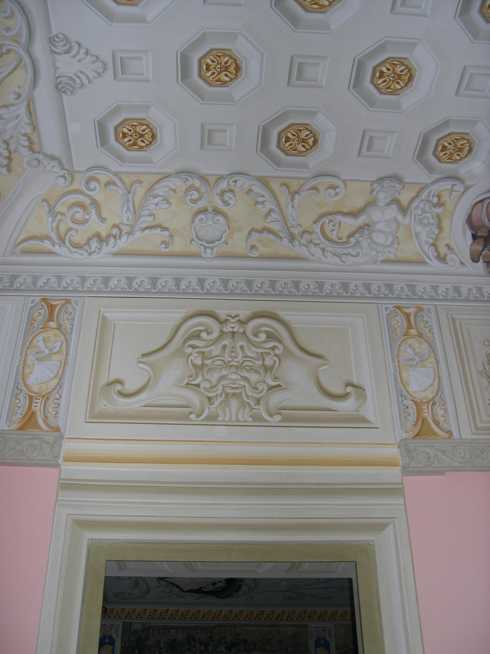 Stucco Soffitto Bagno: Soffitto dello stucco fotografia stock immagine eve bagno.