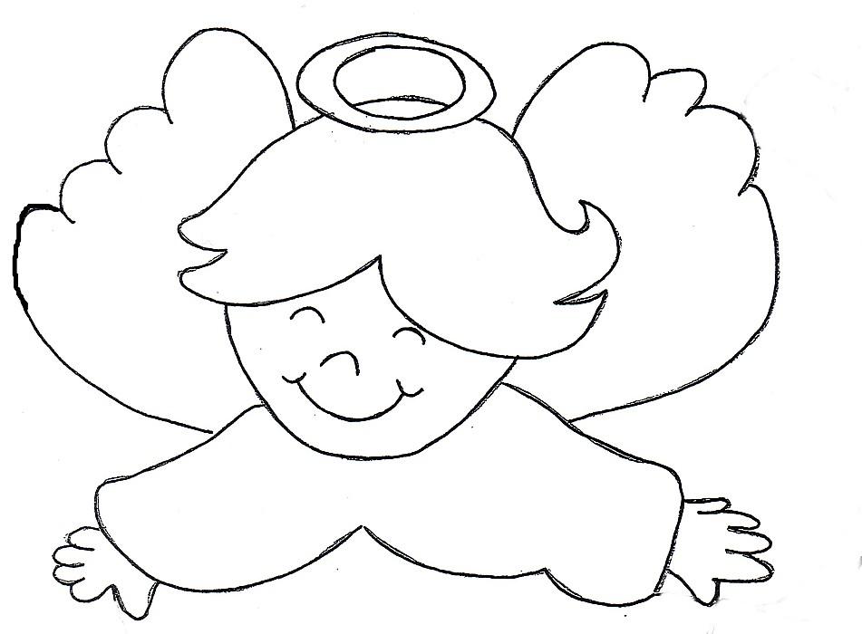 Nel giardino degli angeli catechismo disegni for Disegni da colorare angeli