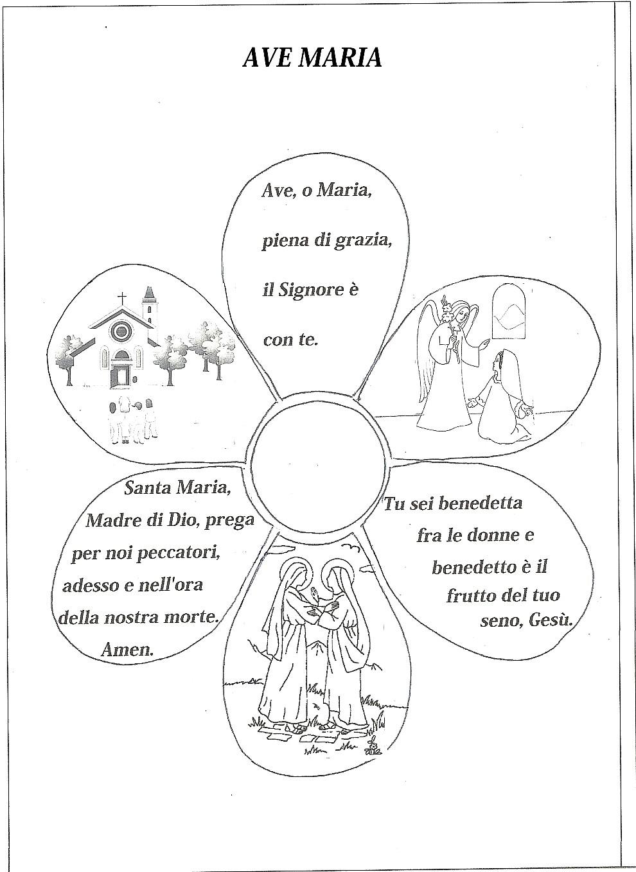 Ben noto Nel Giardino degli Angeli - Catechismo - Schede pagina 1 BN15