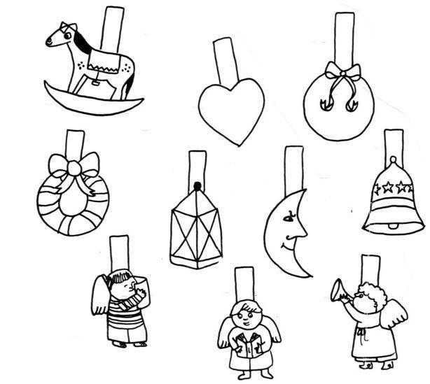 Disegni da colorare sulla creazione del mondo per bambini for Addobbi natalizi per la classe