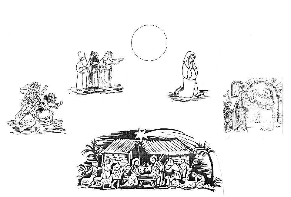 Disegni per bimbi simboli quattro evangelisti da colorare - Libero tacchino da colorare pagina ...