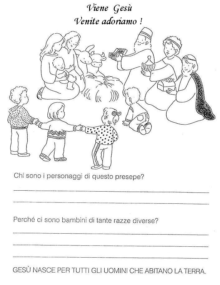 Calendario Liturgico Per Bambini.Nel Giardino Degli Angeli Catechismo Schede Pagina 1