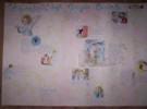 Guarda il cartellone del gioco del giardino degli Angeli custodi