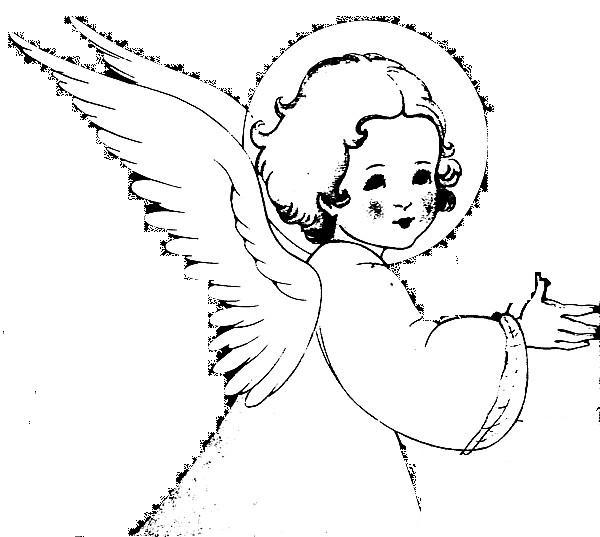 Disegni di angeli custodi per bambini no63 regardsdefemmes for Immagini angeli da colorare