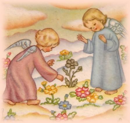 nel giardino degli angeli disegni da colorare
