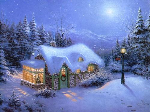 Foto Con La Neve Di Natale.Immagini Natale