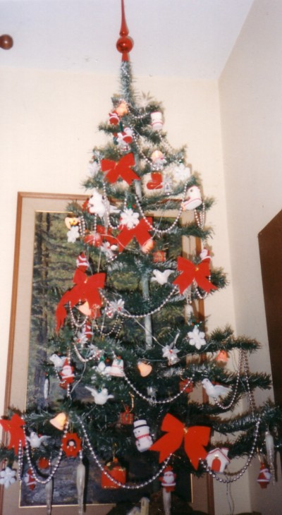 Gli alberi di natale - Nastri decorativi per albero di natale ...
