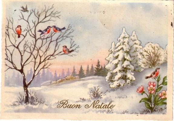 Cartoline Di Natale Anni 70.Cartoline Di Natale