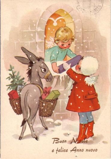 Cartoline Di Natale Anni 30.Cartoline Di Natale