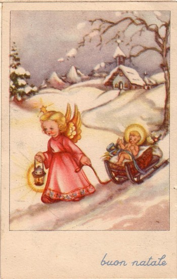 Immagini Natale Anni 60.Cartoline Di Natale