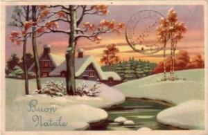 Cartoline natalizie anni 50