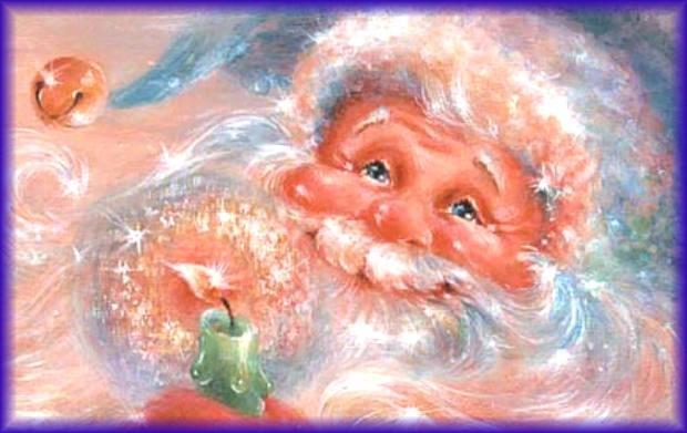 Nel giardino degli angeli aspettando natale babbo - Babbo natale porta i regali ai bambini ...