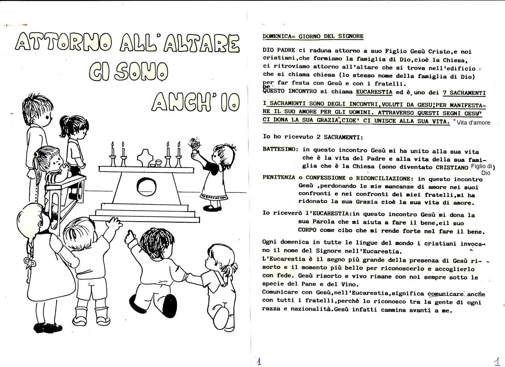 Libretto Matrimonio Rito Romano Qumran : Qumran calendario liturgico per bambini