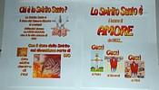 Guarda la prima parte del cartellone dello Spirito Santo