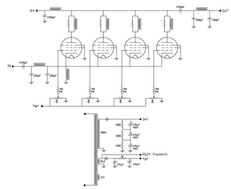 Schema Elettrico Potenziometro : Schema elettrico potenziometro lineare