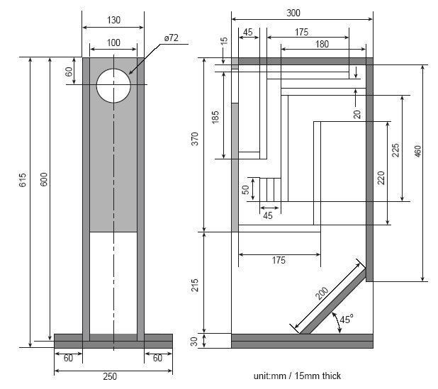 Realizzo casse acustiche su misura a preogetto ebay - Casse acustiche design ...