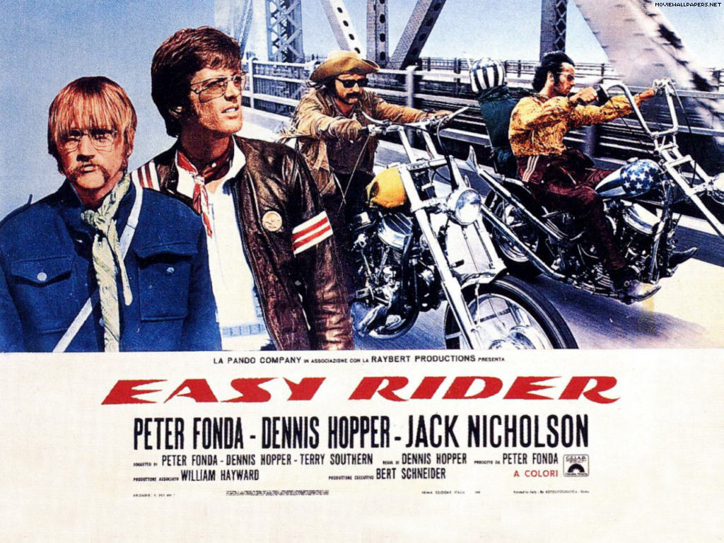 movie poster wallpaper 1024x768 Easy Rider Movie Poster