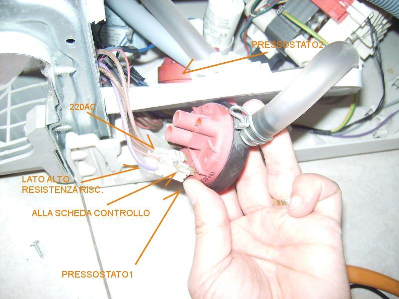 Schema Elettrico Pressostato Lavatrice : Come funziona un pressostato