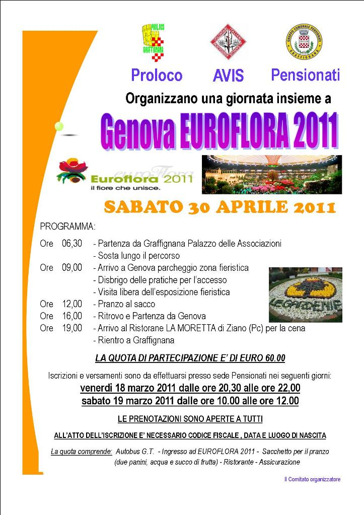 Gita a Genova Euroflora