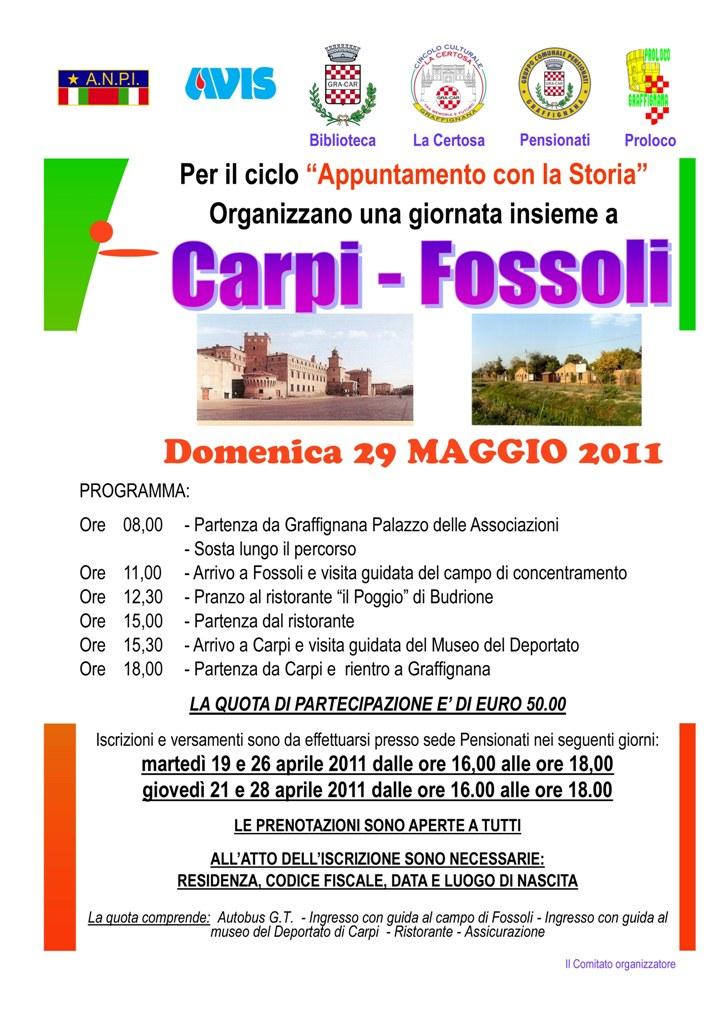 29-05-2011 Gita a Carpi-Fossoli
