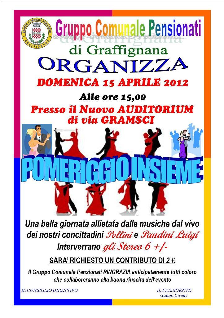 15-04-2012 Pomeriggio Insieme