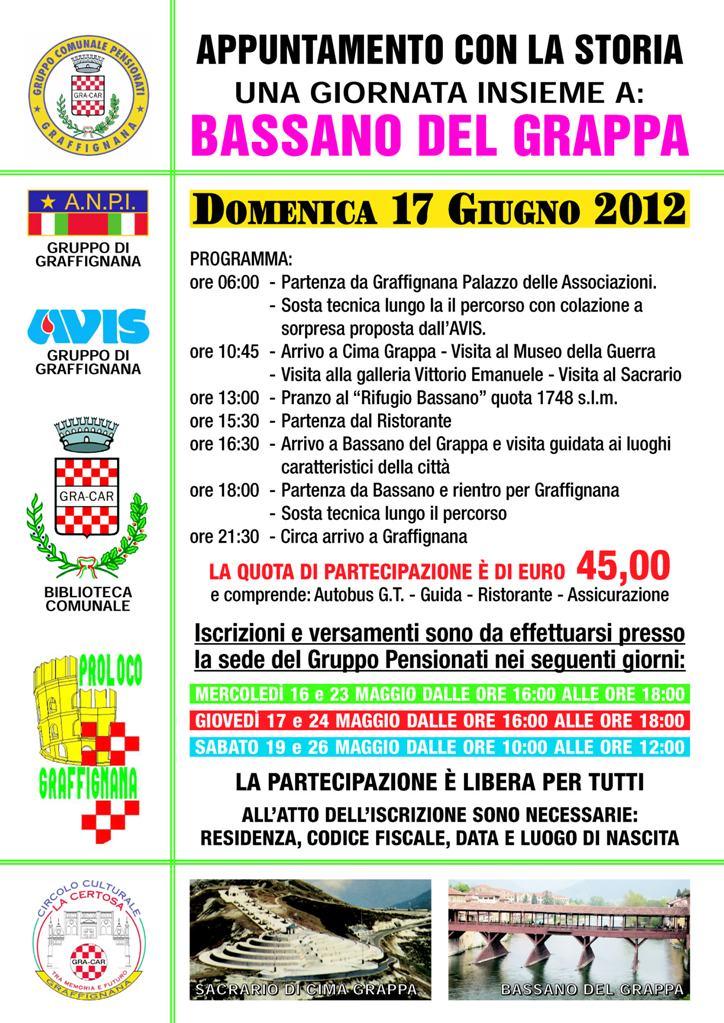 17-06-2012 Gita a Bassano del Grappa