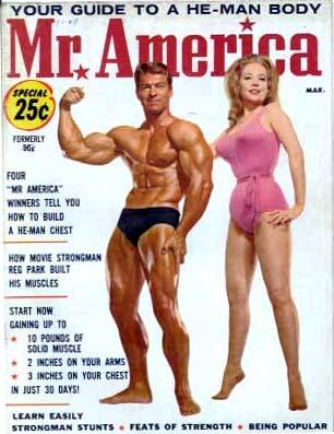 Larry Scott, Mr. Olympia himself