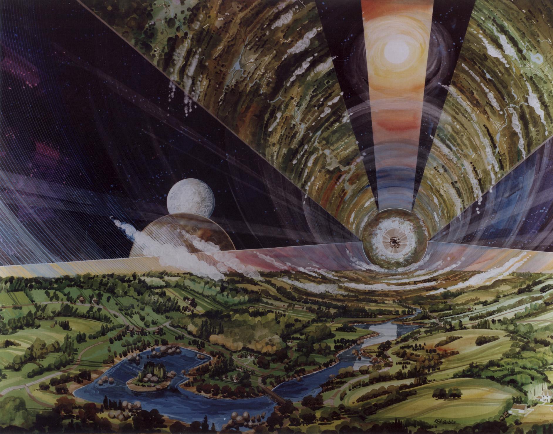 Opentype, zona residenziale (disegno NASA)