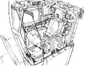 RX-78 GP01: cabina guida