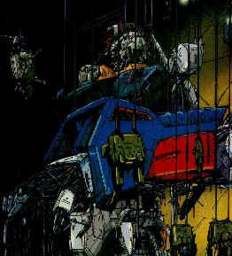 repairing Z Gundam
