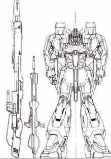 Z Gundam's weapons