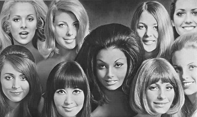 Hairstyle Years 60 S 70 S Girls Amp Women Vintage Fashion