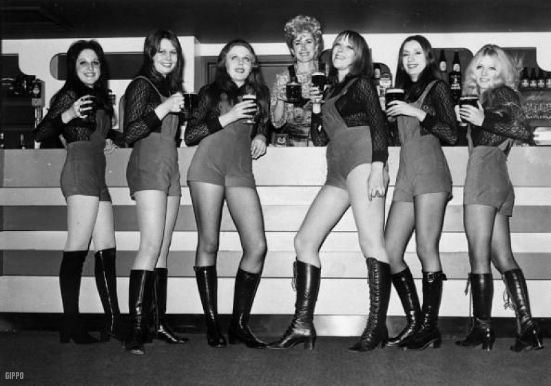 Hotpants Girls Of Years 70 S Galleria Immagini Retro
