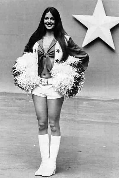 US 1972 - Cheerleader ( Dallas Cowboys )