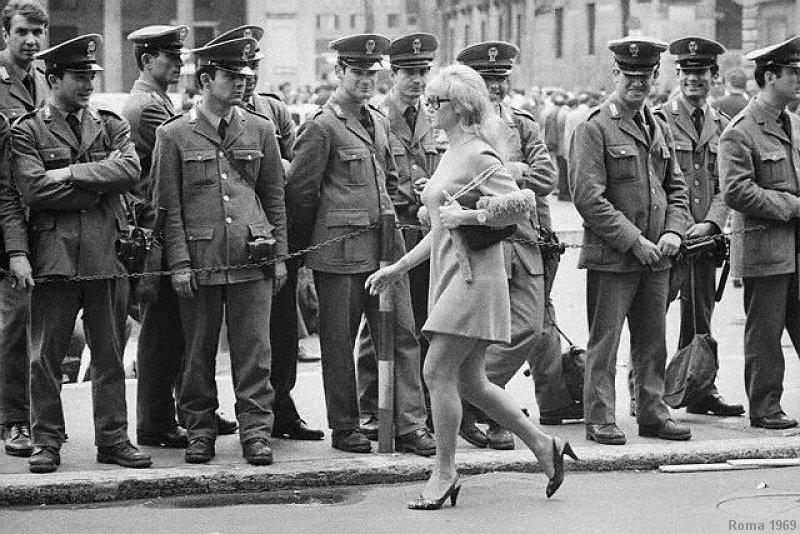 mini 1969 roma polizia