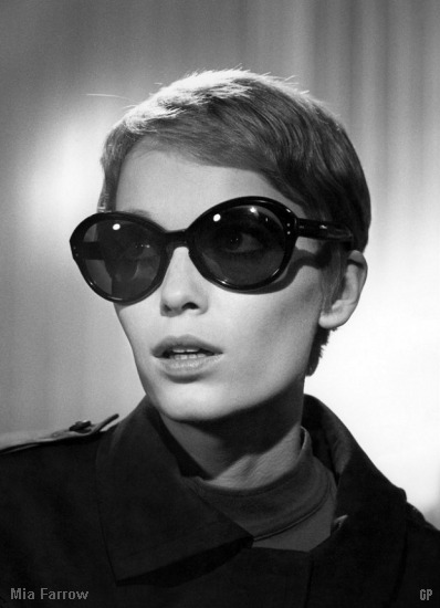 Mia Farrow glasses