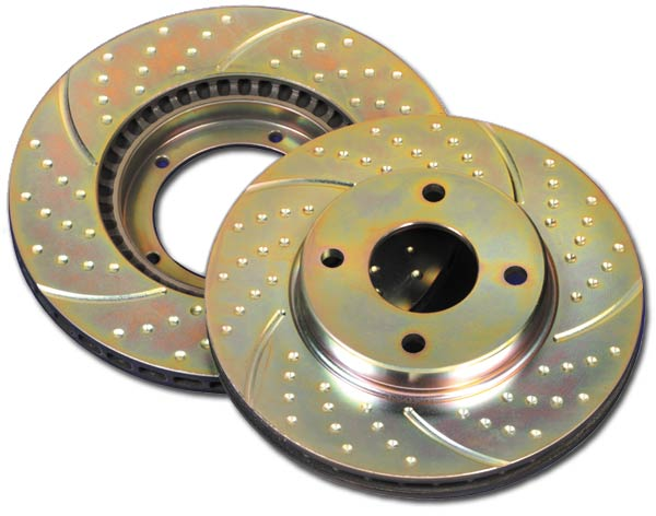 EBC Ultimax Pastiglie Freno Posteriore per Ford F-150 4x4 2000 /> 04