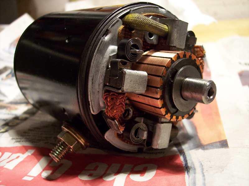 Schema Elettrico Motorino Avviamento : Spazzole del motorino di avviamento montare motore elettrico